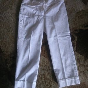 Loft cropped pants